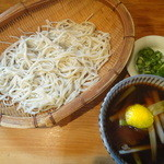 そば さくら - 山くじら(野生の猪肉)蕎麦 \1530