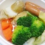 ナゴヤ キッチュ エ ビオ - 温野菜サラダ
