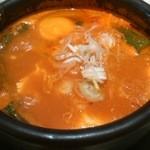 東京純豆腐 - アサリのスンズゥブ