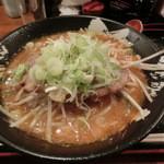 すすきのらぁめん 膳 - 2012.12味噌らぁめん