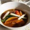 ほわいとらでぃっしゅ - 料理写真:蔵王高原野菜スープカレー