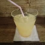萌木星 - ドリンクセットのりんごジュース