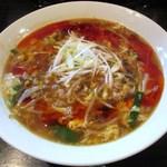 拉麺勇気 - 海老酢辣湯麺