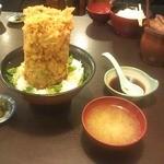 16389404 - 海鮮かき揚げ丼