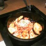 坐・和民 - 茄子とベーコンの石焼ボロネーゼ