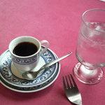 アリタリア - 料理写真:セットのコーヒー(エスプレッソカップで)