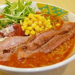 つけめん 彩香  - 完熟トマトのポタージュ系スープ「イタリアントマト麺」
