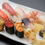 あけぼの寿司 - 料理写真:超特撰寿司