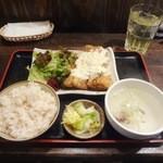 牛タン 圭助 - チキン南蛮定食800円