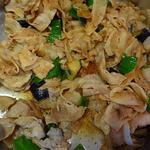 川崎日航ホテル カフェレストラン「ナトゥーラ」 - 豚肉と茄子のオイスターソース炒め