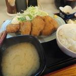 たか - 13:30~の白身フライ定食¥600