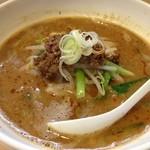 ラーメン厨房 シルクロード - 坦々麺(800円)