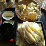 ザ・大将 - 野菜天ぷら三点盛りせいろ(750円)_2012-12-14