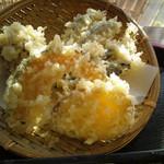 ザ・大将 - 野菜天ぷら三点盛りUP_2012-12-14