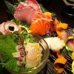 海鮮酒菜げんげ - お造り盛り合わせ