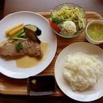 BOUNO参丁目 - 今日の日替りは「ビーフステーキ」でした
