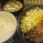 164988 - 何故か大好きだった豚焼肉定食。。。