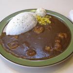 米々亭 - 小エビカレーです。