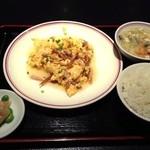 16400226 - 叉焼入り玉子炒め定食★