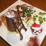 aqua - 2012年クリスマスディナーのケーキです