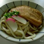 天野製麺所 - きつねうどん大