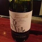 バール カイ - 白ワイン バローネ・リカゾリ トッリチェラ