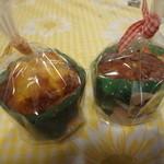 ブルク 手作りパン - フルーツケーキ、2種(それぞれの商品名控えなし)