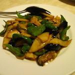 16406401 - 茄子とジャガイモの醤油風味