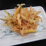 さぬき麺児 - かき揚