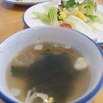 DON幸庵 - Don幸庵 ランチのスープ