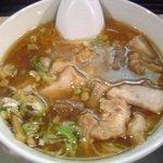 らーめん小江戸 - 特製つけ麺 スープ