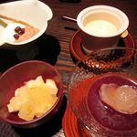 料理屋 仁 - この日のデザート達(24年12月)