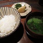 料理屋 仁 - 食事(24年12月)