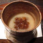 料理屋 仁 - 鶉と茸のすり流し(24年12月)