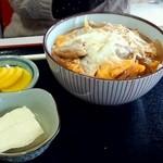 舘の丸食堂 - 親子丼 420円