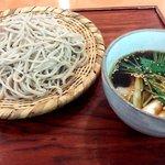 蕎麦 紫翠 - 豚せいろ(アップ)
