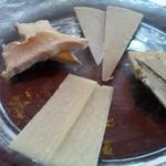 アートレッグカフェ - チーズのアップ