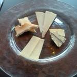 アートレッグカフェ - チーズ盛り合わせ