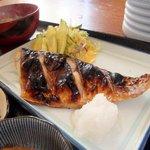 浜乃家 - 焼き魚定食(サバの塩焼き)のアップ写真