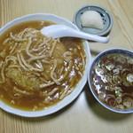 盛京亭 - スープがついて、堂々500円!