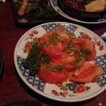 つくしんぼ - トマトとバジルのサラダ