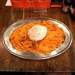 ハラ ペコ - ナポリタンLL+目玉焼きトッピング