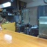 石臼挽き手打 蕎楽亭 - 厨房