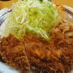 キッチン南海 上井草店 - チキンカツしょうが焼き