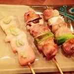 ちばチャン - 鶏のわさび焼き105円、ねぎ間137円