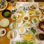 自然彩食ふきのとう イオン高松店 - 2人で食べます