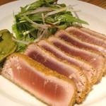 銀座並木通りワインバル nana - 鮪の香草パン粉揚げ 1200円(税込1260円)
