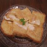 age - 豆乳とメイプルシロップのフレンチトースト  2012.12.17