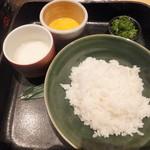 博多 表邸 - 塩とろろ雑炊