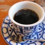 ティールーム 霧笛 - ホットコーヒー